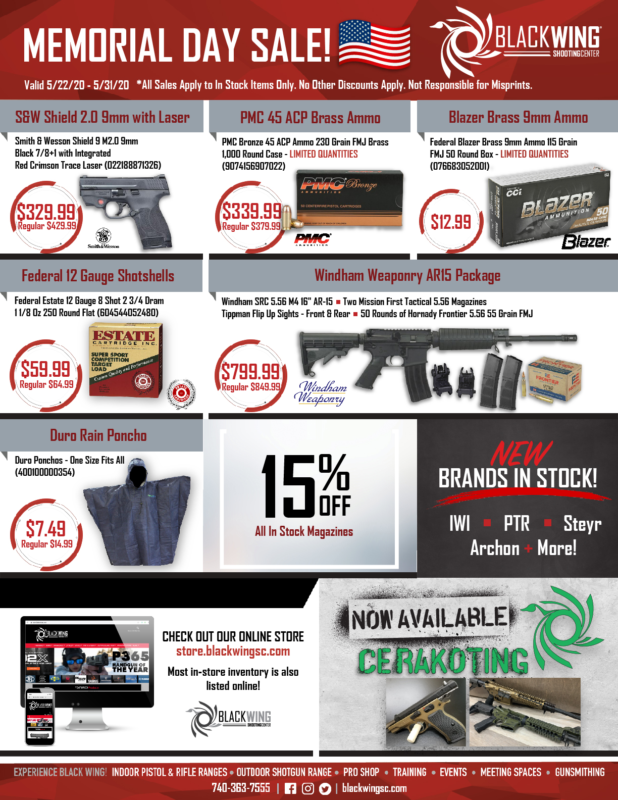 2020 - Memorial Day Sale Flyer Current Specials